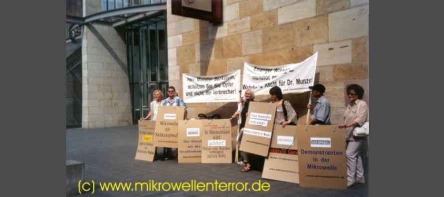 Odpor proti mikrovlnným zbraním v Německu