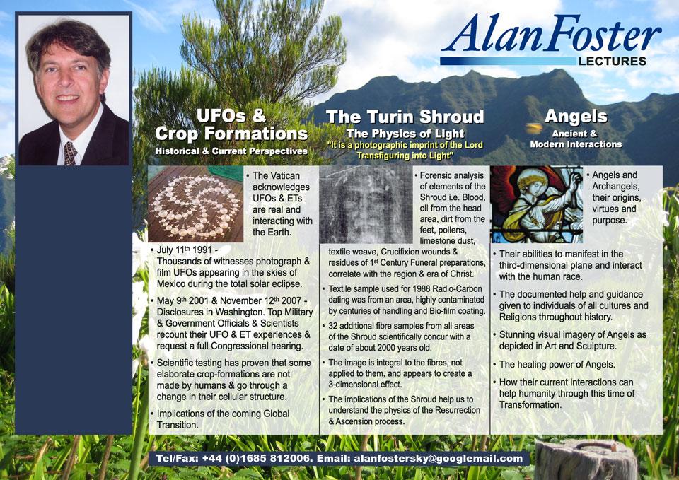 Osobní webové stránky autora Alana Fostera