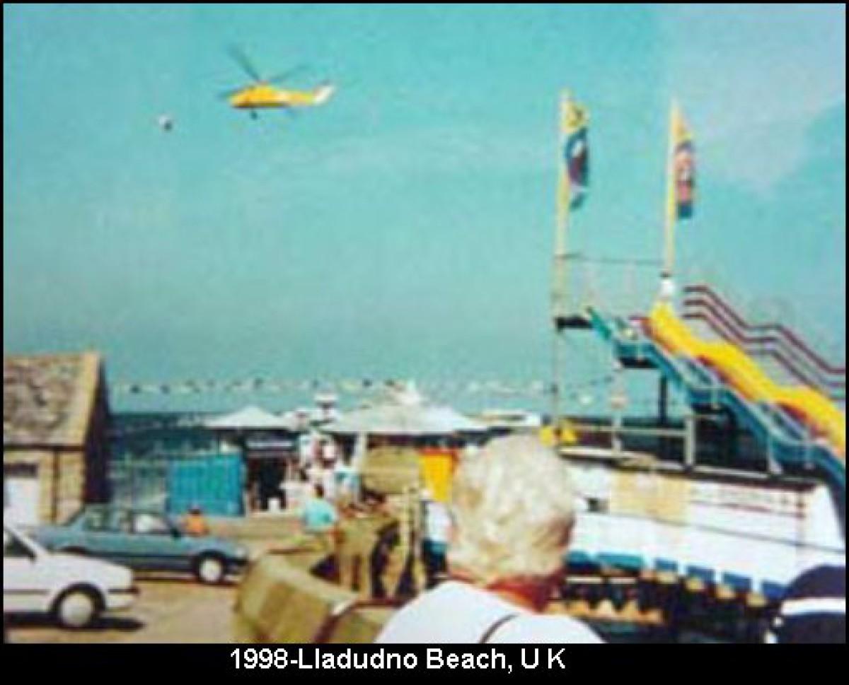 Anglie, Ilaudundo beach, 1998