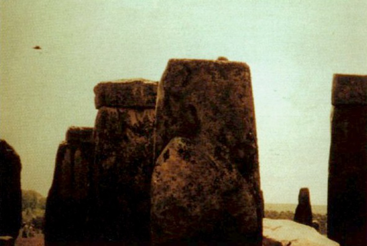 Anglie, Stonehenge, 1990