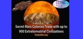 Tajné kolonie na Marsu obchodují až s 900 mimozemskými civilizacemi