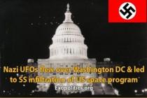 Přelet nacistických UFO nad Washingtonem a SS infiltrace vesmírného programu USA