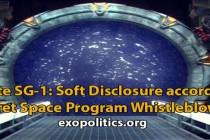 Seriál Stargate SG-1(Hvězdná brána): nenápadné Odhalení podle informátora tajného vesmírného programu