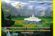 Tajná podzemní města ovlivňovala lidskou civilizaci a náboženství po tisíciletí