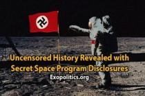 Odhalena necenzurovaná verze historie – včetně odkrytítajného vesmírného programu