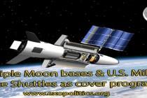Mnohočetné základny na Měsíci a raketoplány americké armády jako krycí programy