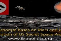 Korporační základny na Marsu a nacistická infiltrace tajného amerického kosmického programu