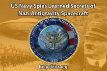 Špioni amerického námořnictva se dozvěděli tajemství o nacistické vesmírné antigravitační lodi