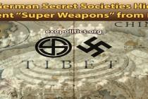 Německé tajné společnosti nedopřály nacistům pradávné super-zbraně