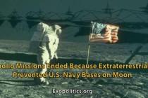 Mise Apolla ukončena – mimozemšťané totiž zabránili základnám na Měsíci