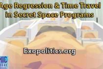 Věková regrese a cestování časem v tajných vesmírných programech