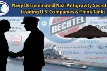 Námořnictvo sdělilo tajemství nacistů o antigravitaci vedoucím firmám USA – plus ukázka z rozhovoru ExoNews TV