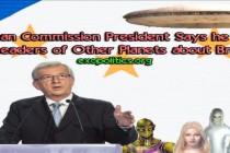 Předseda Evropské komise říká, že hovořil s vůdci jiných planet o Brexitu – oficiální projev před Evropským parlamentem