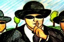 UFO: Muži v černém, hnědém a do zelena – absurdní divadlo; – Souvisí Tibet s nacismem?