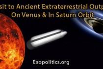 Návštěva prastarých mimozemských stanic na Venuši a oběžné dráze Saturnu