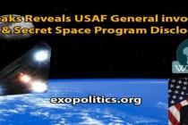 Wikileaks odkrývá generála letectva USA zapojeného do odhalování UFO a tajného vesmírného programu
