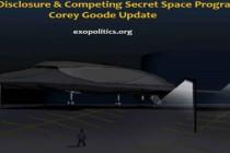 Částečné odhalení a konkurence tajných vesmírných programů