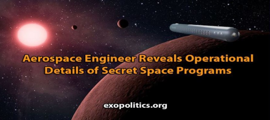Letecký inženýr Tompkins odhaluje podrobnosti operace tajných vesmírných programů