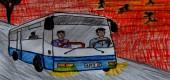 Šokující setkání řidiče autobusu z Vysočiny – manipulace s realitou, únos?