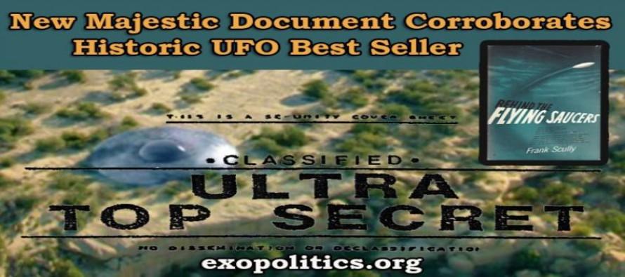 Nový dokument Majestic potvrzuje pravdivost historického bestselleru o UFO