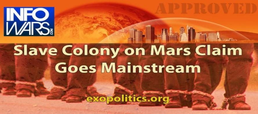 Tvrzení o existenci kolonie otroků na Marsu probíhá médii hlavního proudu