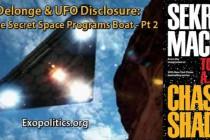 Tom DeLonge & odhalení UFO: rozhoupání loďky tajných vesmírných programů – 2. část – tajné letouny, bohové, vyhodnocení užitečnosti zdroje