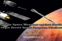 Trump použije proti Severní Koreji vesmírné zbraně a odhalí tak částečně kosmický program
