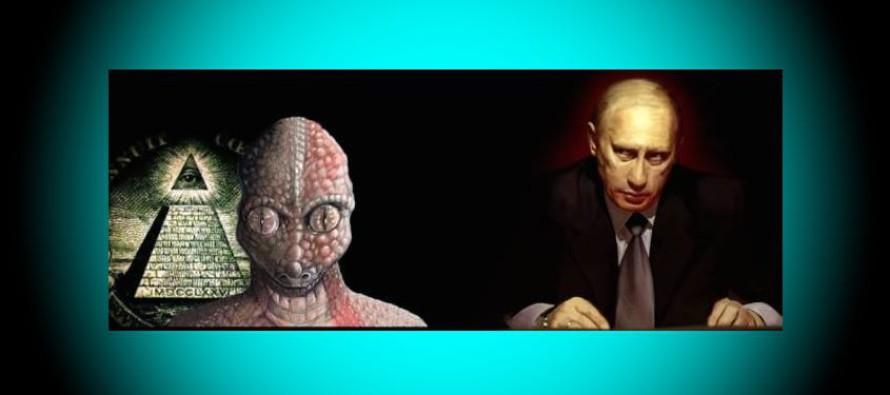 Putin dal jasně najevo, že svět je ovládán Reptiliány