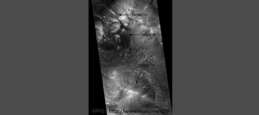 Mars: aktivní průmyslové místo a institut dálkového nazírání