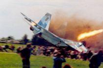 Ukrajinský pilot tvrdí, že jeho letoun sestřelilo UFO