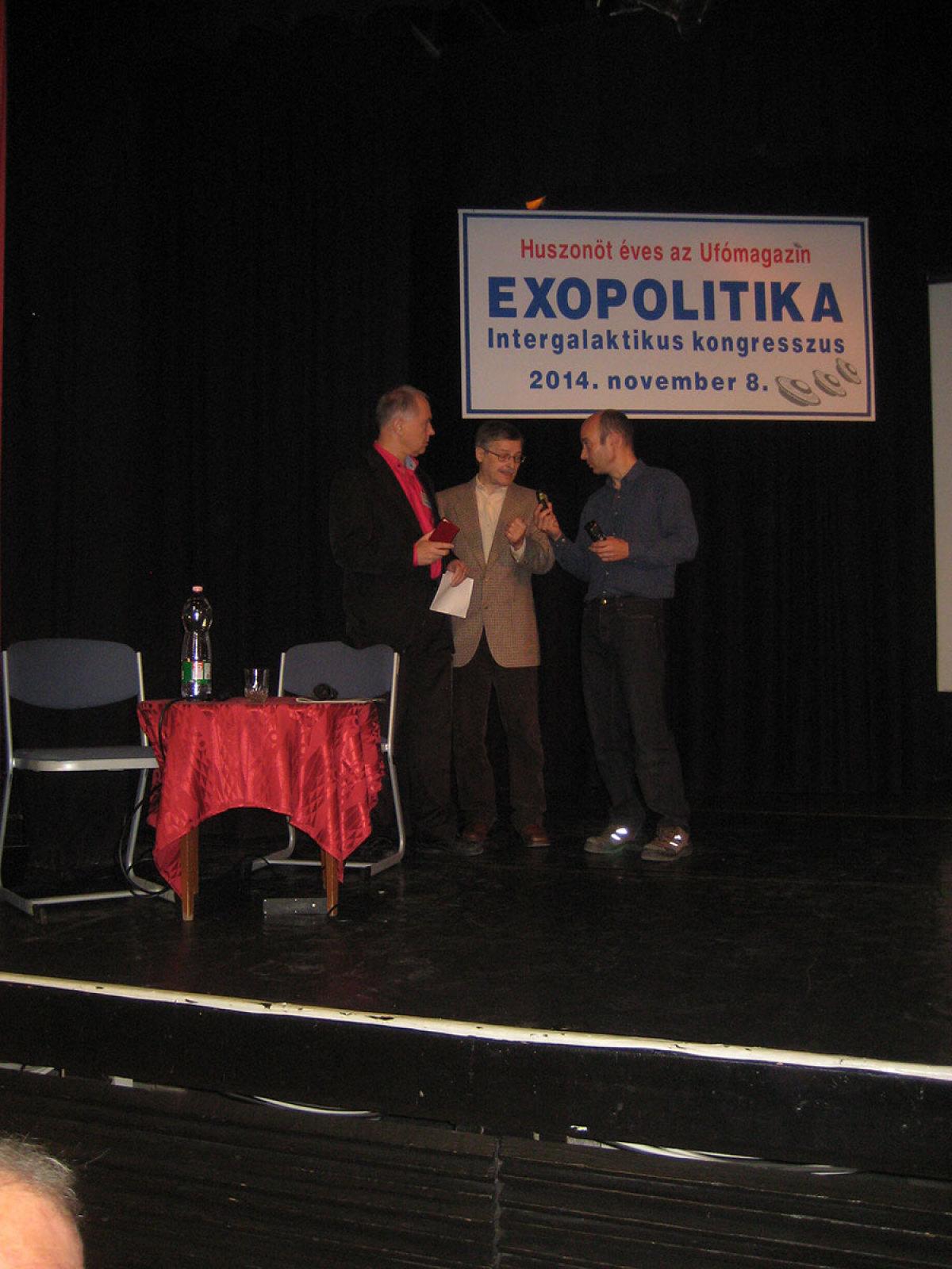 Přednáška v Budapešti