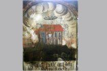Na staré nástěnné malbě v Rumunsku objeveno možná UFO