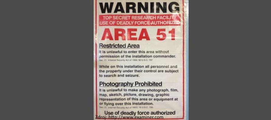 AREA 51 je nyní oficiálně uznána: jsou tam mimozemské lodě?