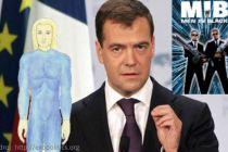 Dmitrij Medveděv tvrdí, že mimozemšťané žijí mezi námi