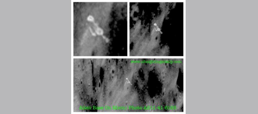 Fotografie z Apolla 11 odhaluje základnu na odvrácené straně Měsíce