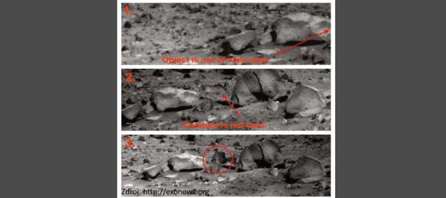NASA nechce hovořit o důkazu života na Marsu