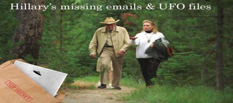 Hillary Clintonová: chybějící e-maily a spisy UFO