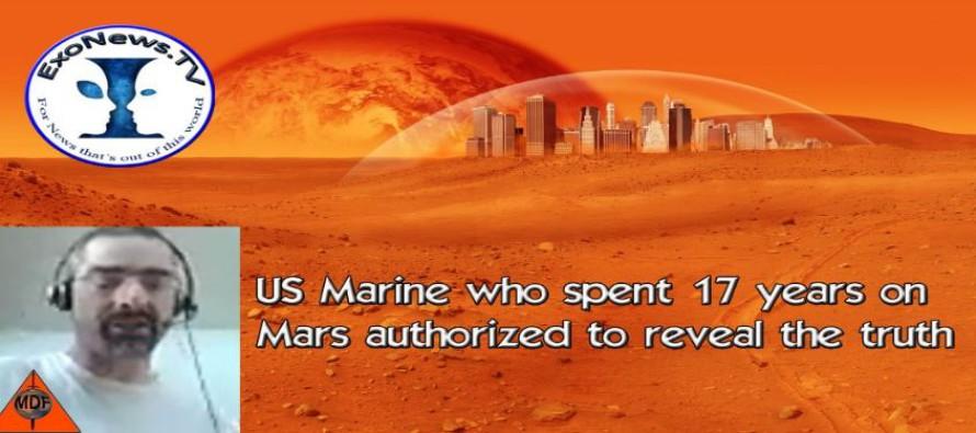 Voják námořní pěchoty USA, který strávil 17 let na Marsu, dostal povolení odhalit pravdu