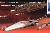 Informátor Corey odhaluje znepokojení vícečetných tajných vesmírných programů nad existencí nových mimozemských návštěvníků