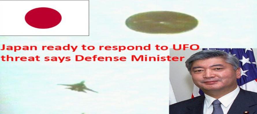 JAPONSKO JE PŘIPRAVENO REAGOVAT NA HROZBU UFO ŘÍKÁ MINISTR OBRANY