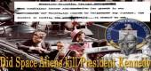 Zabili mimozemšťané z vesmíru prezidenta Kennedyho?