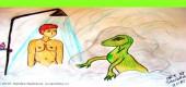Úvahy muže, který je unášen, šikanován a energeticky vysáván Reptiliány