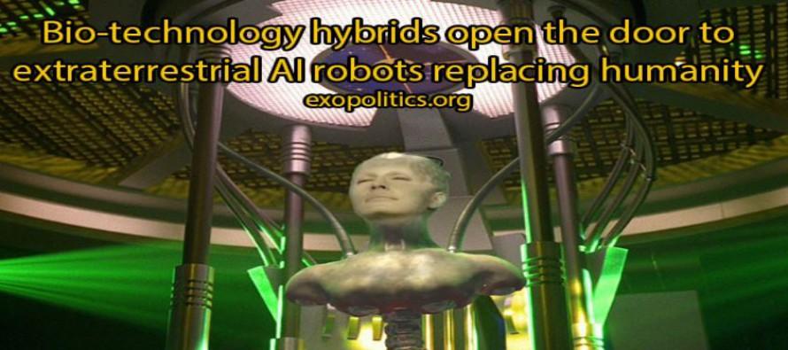 Biotechnologičtí hybridi otevírají dveře mimozemské umělé inteligenci robotů nahrazujících člověka