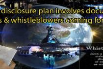 Plán na úplné mimozemské odhalení zahrnuje zveřejnění skladů dokumentů a svědectví informátorů