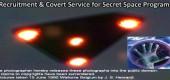 Nábor a skryté služby pro tajné vesmírné programy