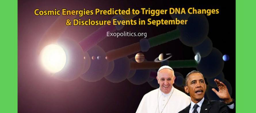 Předpověď: vzáří 2015 energie z kosmu spustí změny v DNA a Odhalení