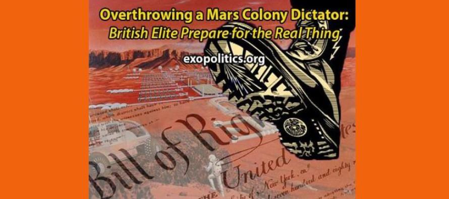 """Svržení diktátora kolonie na Marsu: britská elita se připravuje na """"skutečnou akci"""""""