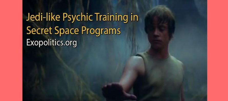 Psychický trénink vtajných vesmírných programech jako ve Hvězdných válkách u rytířů Jedi