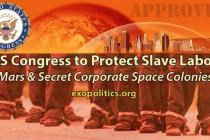 Kongres USA chrání práci otroků na Marsu a v korporačních vesmírných koloniích