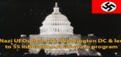 Přelet nacistických UFO nad Washingtonem, D.C., – a SS infiltrace vesmírného programu USA